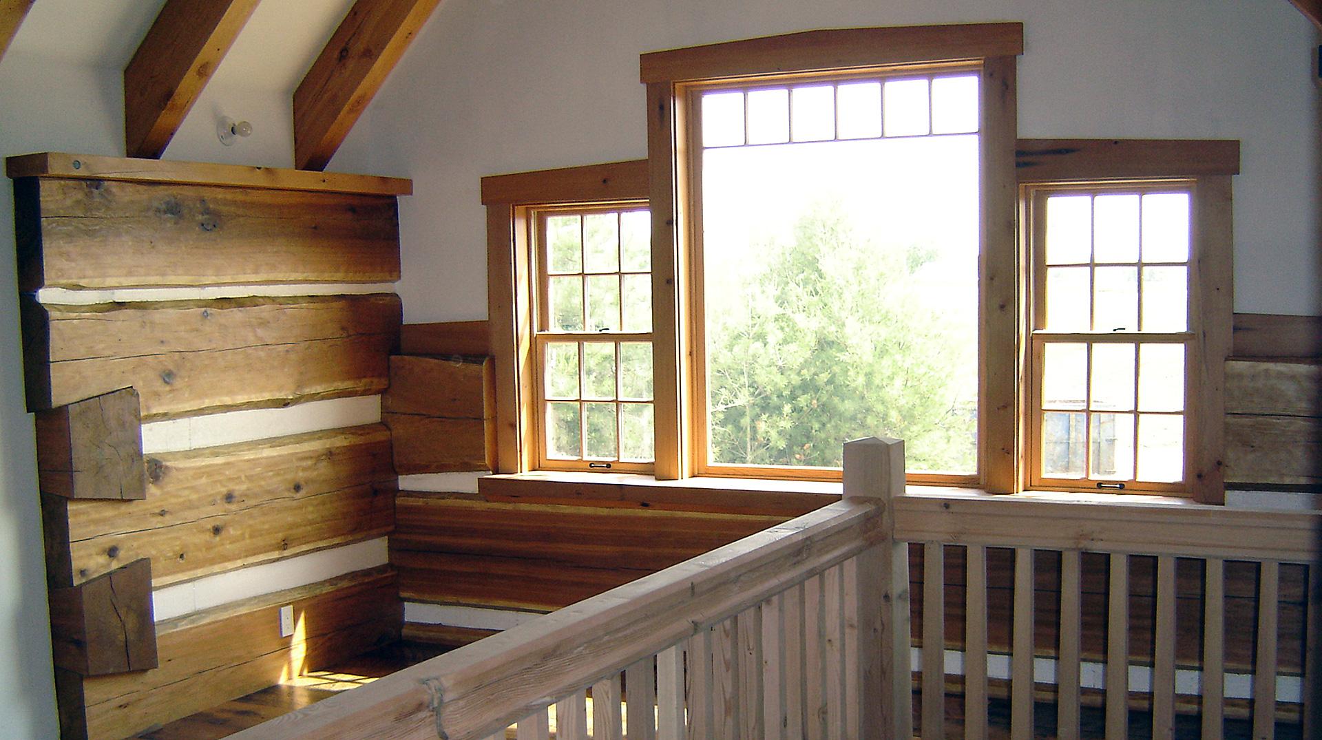 interior timber details