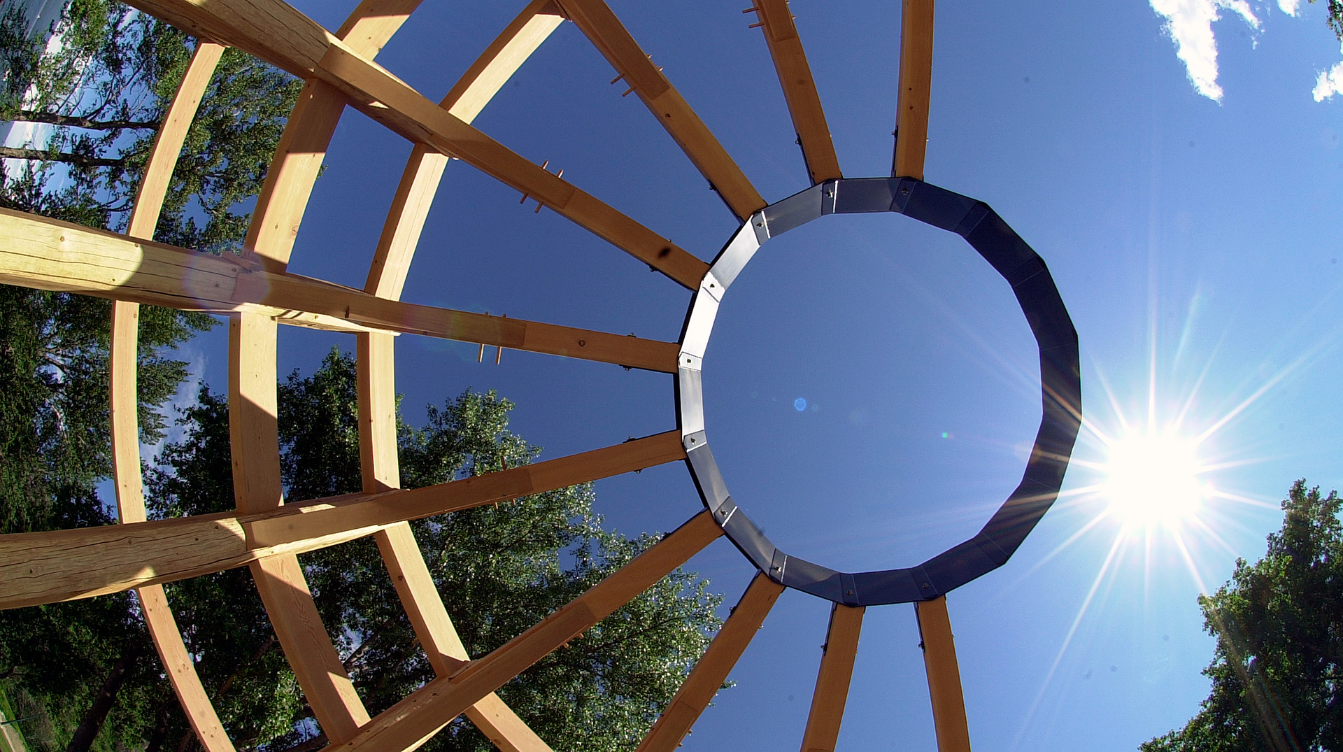 first nations influence timber frame