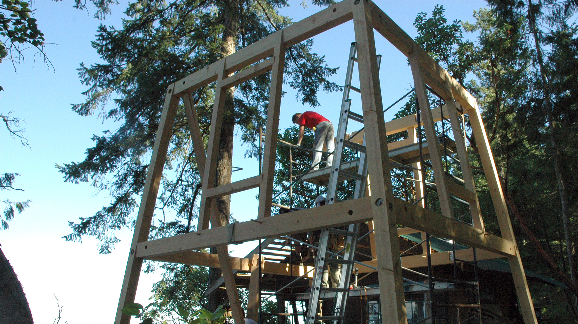 timber framing process