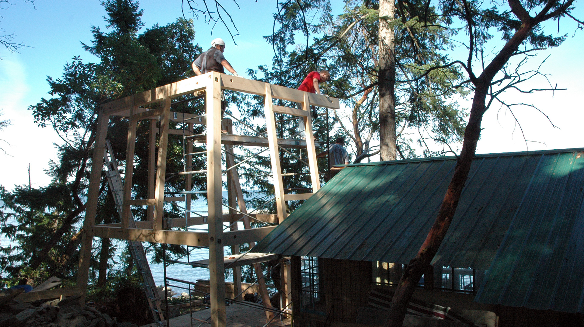 timber framing crew