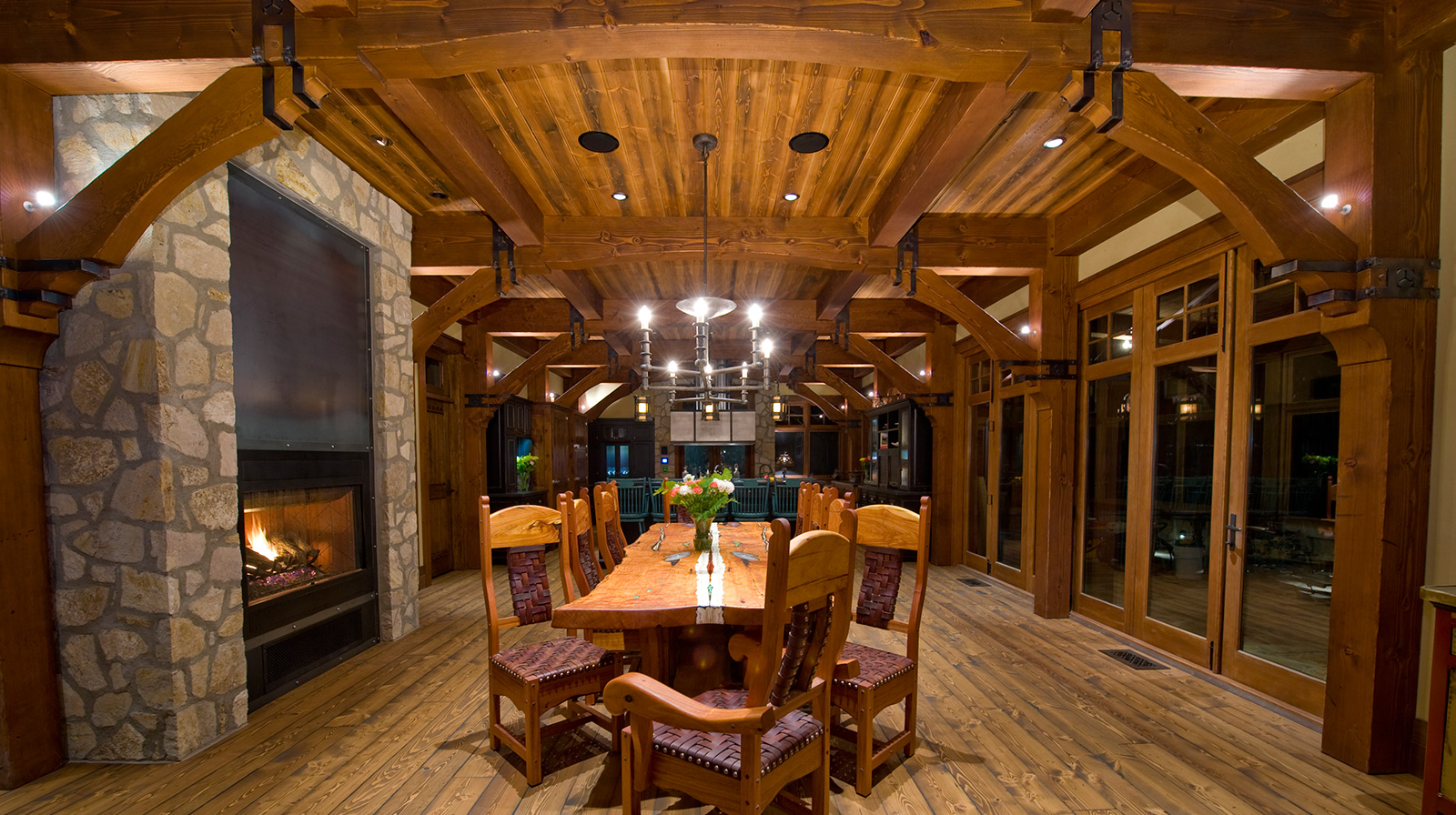 dining room Ranch Manor