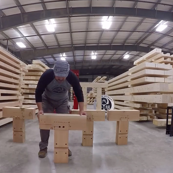 Wood Joinery Strength Testing