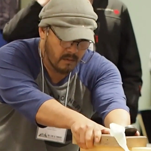 Kanna (Hand Plane) Competition at 2017 BCLTBIA